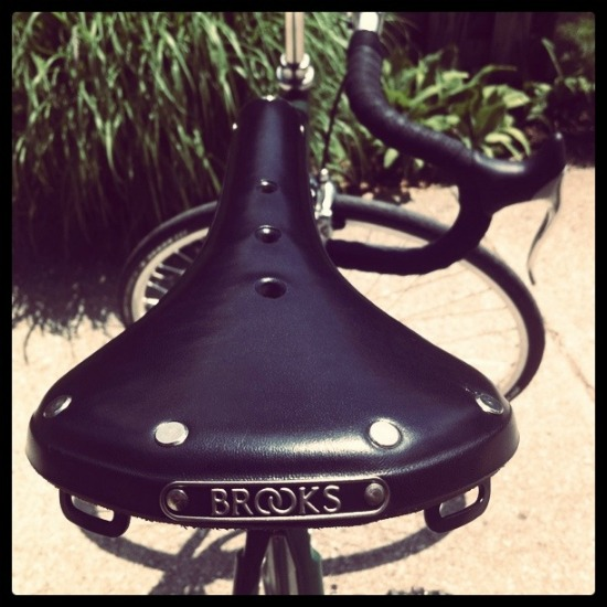 The Brooks Saddle