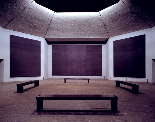 A photo of Rothko Chapel in Houston, TX.