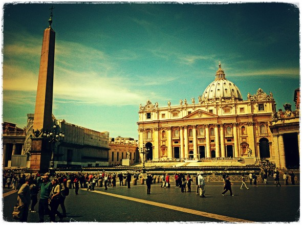 A picture of the Vatican, Vatican City