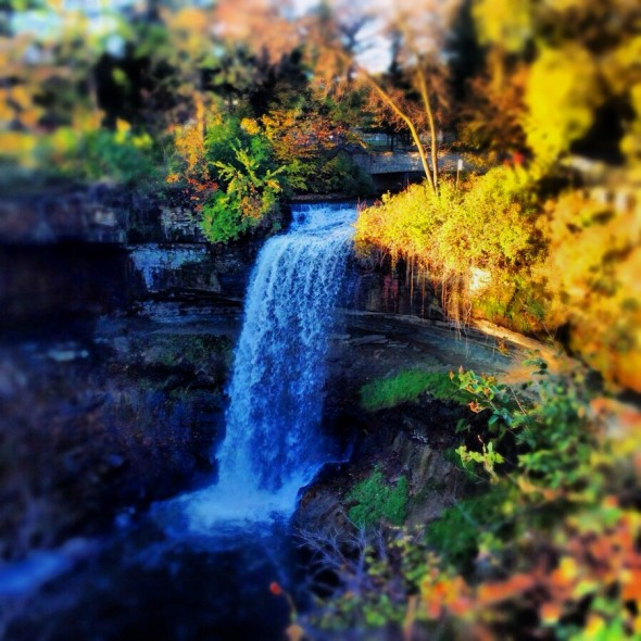 An image of Minnehaha Falls