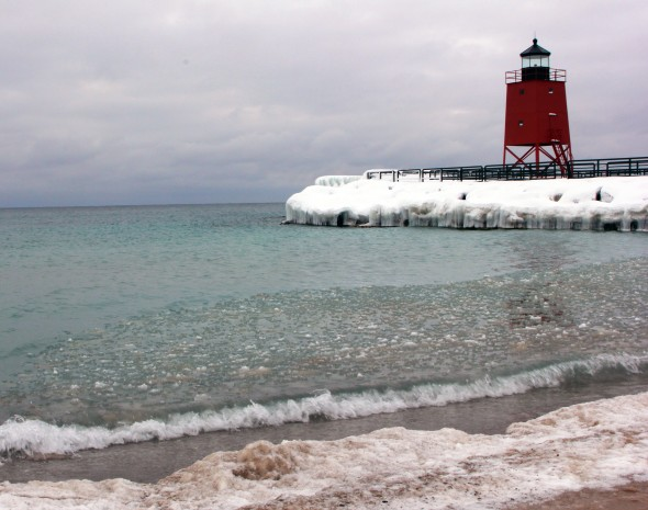 An image of Charlevoix South Pierhead