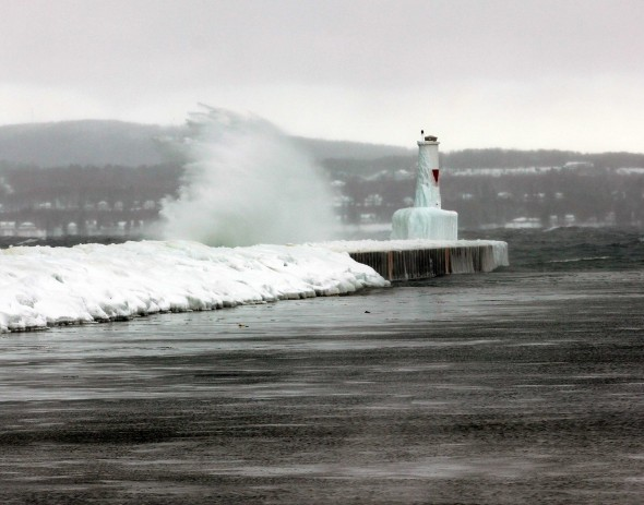An image of the Petoskey Pierhead
