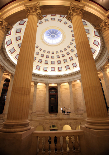 The Russell Senate Building Rotunda