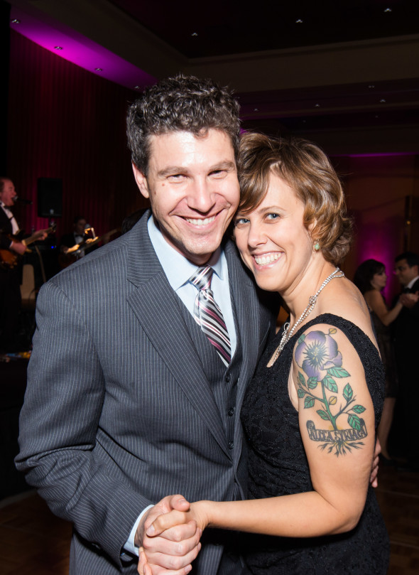 Devon and Dharma Akmon at the 2014 AANM Gala