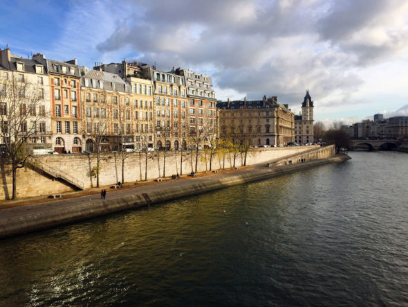 Image of the Right Bank along the Seine