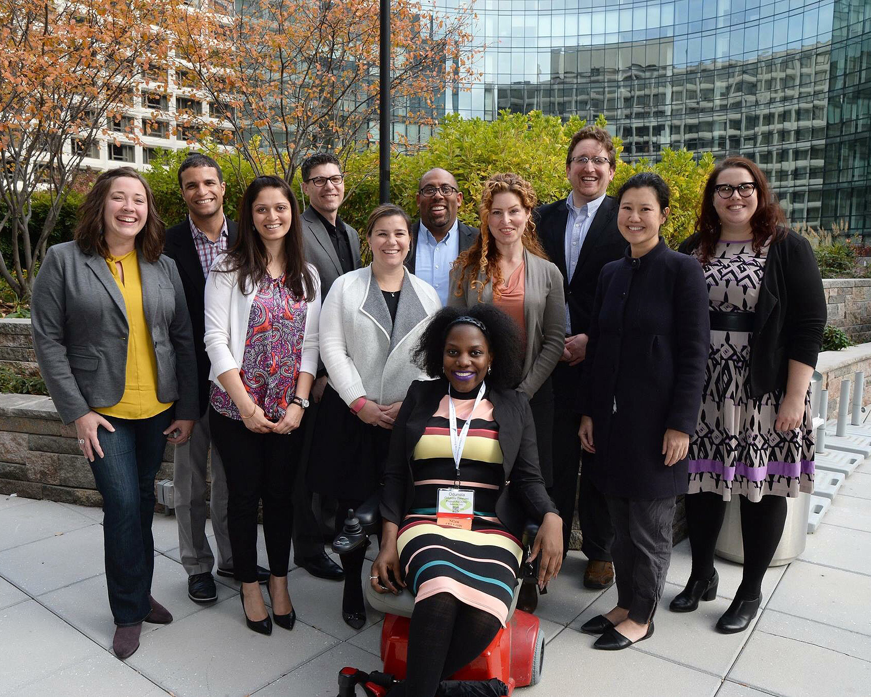 Photo of the 2016-17 American Express NGen Fellows
