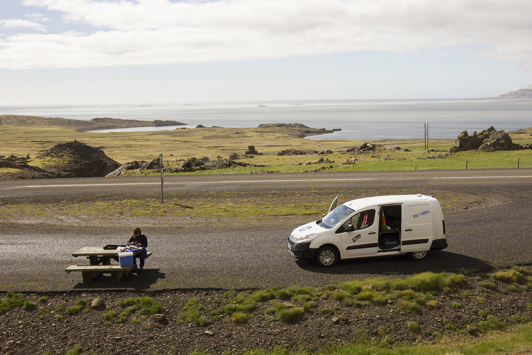 Roadside Picnic in Iceland