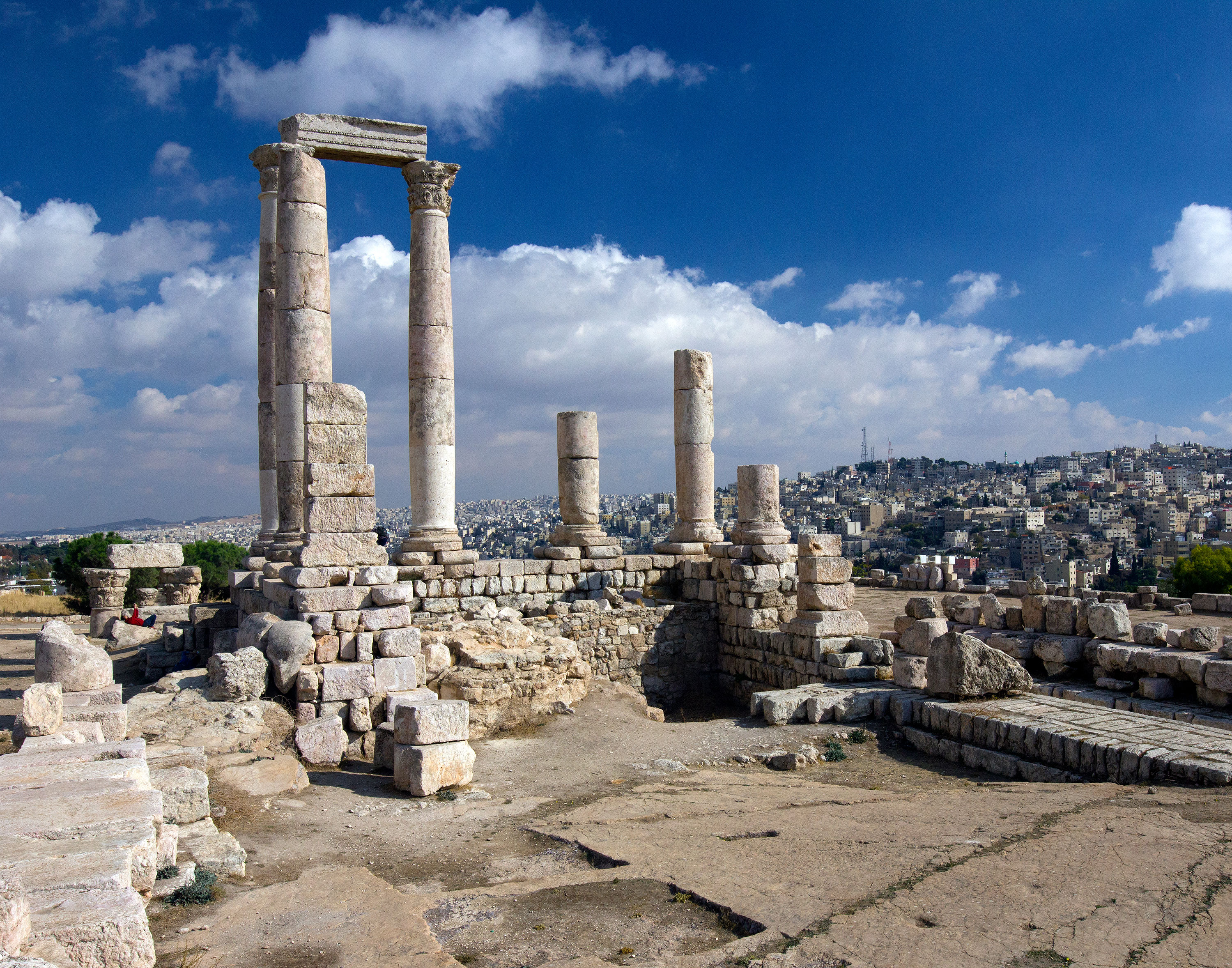Temple of Hercules in Amman, Jordan